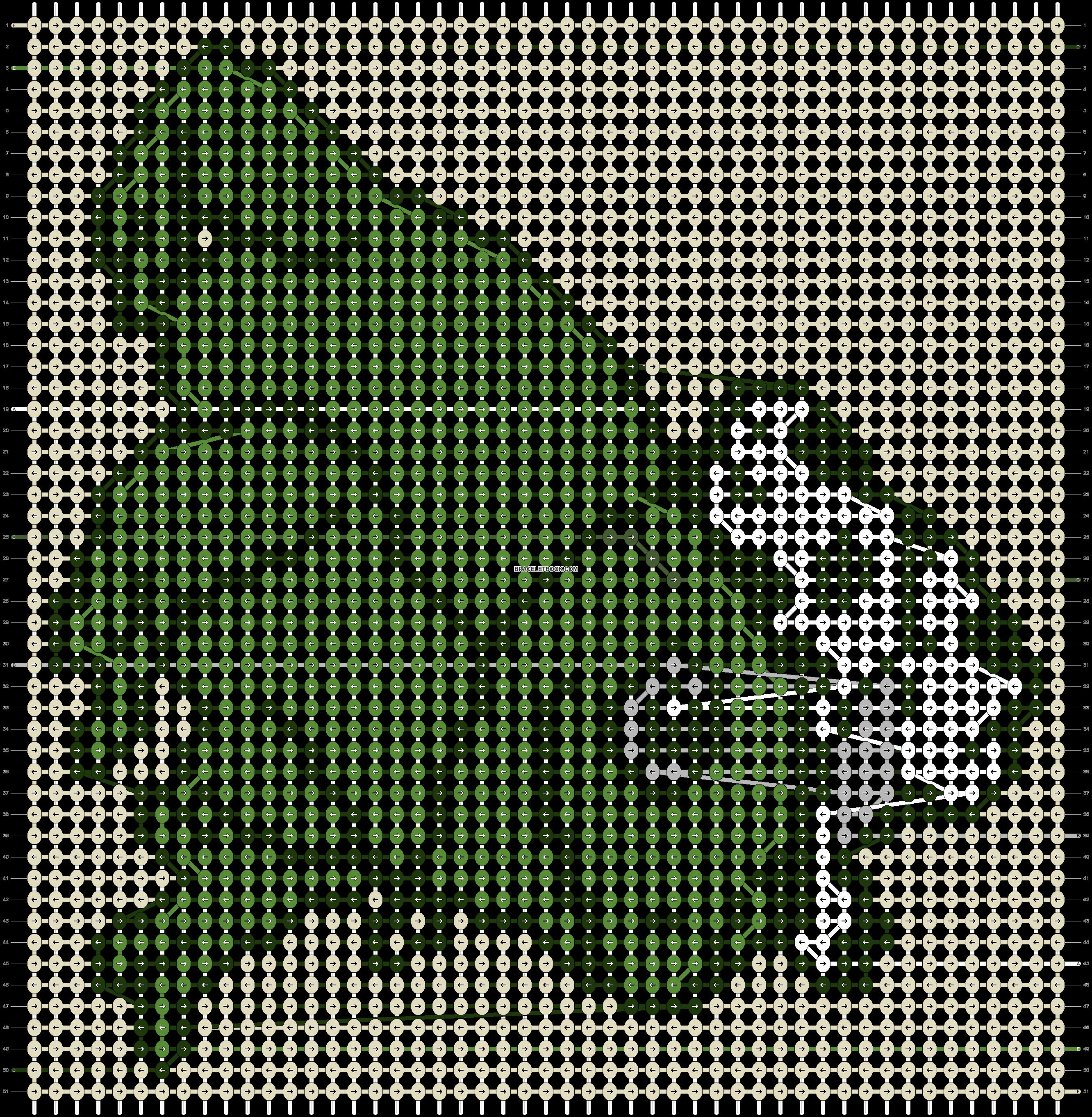 Alpha pattern #72130 pattern