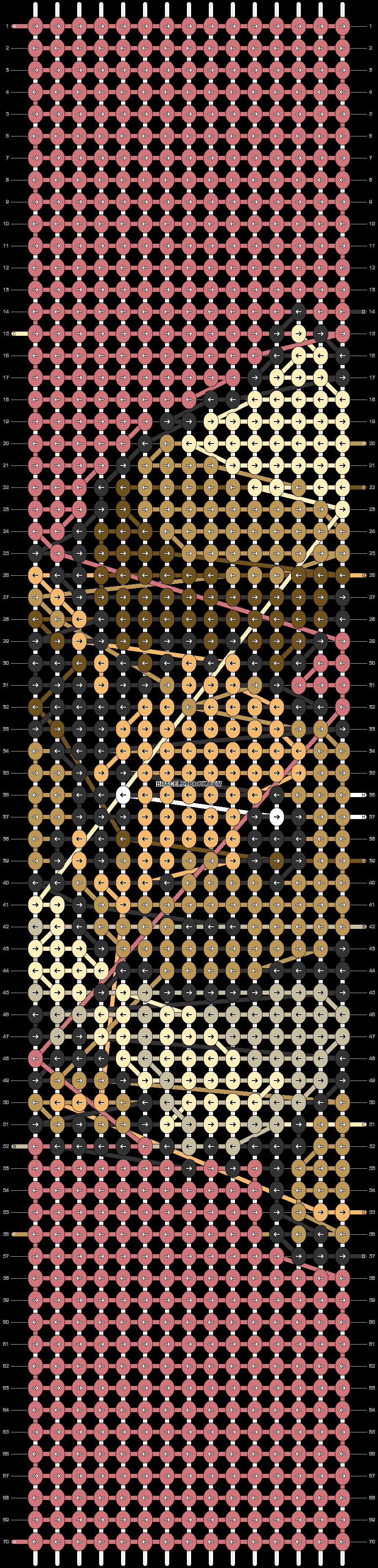 Alpha pattern #72226 pattern