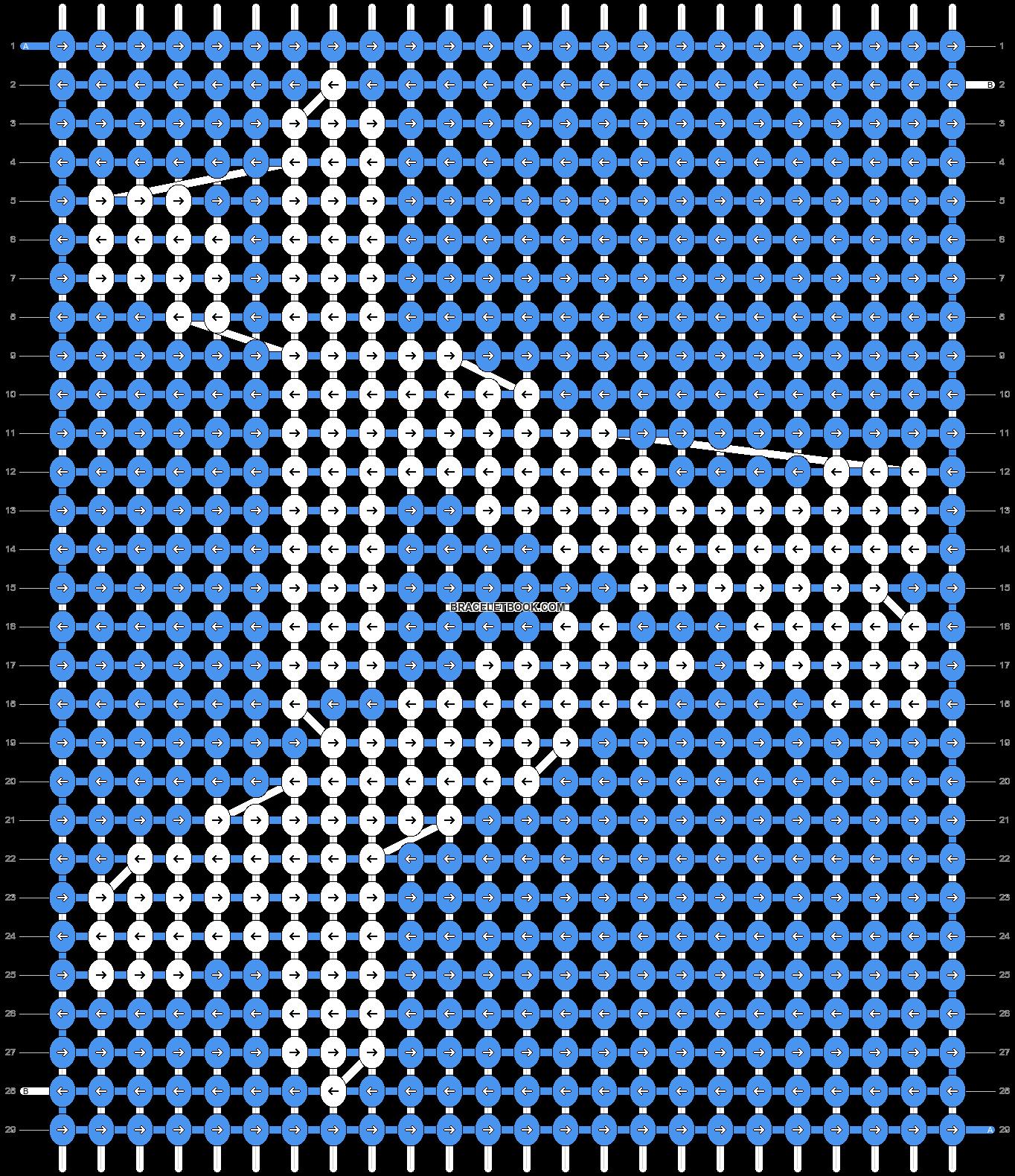 Alpha pattern #72247 pattern
