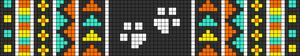 Alpha pattern #72262