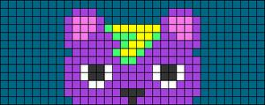 Alpha pattern #72274