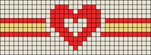 Alpha pattern #72318