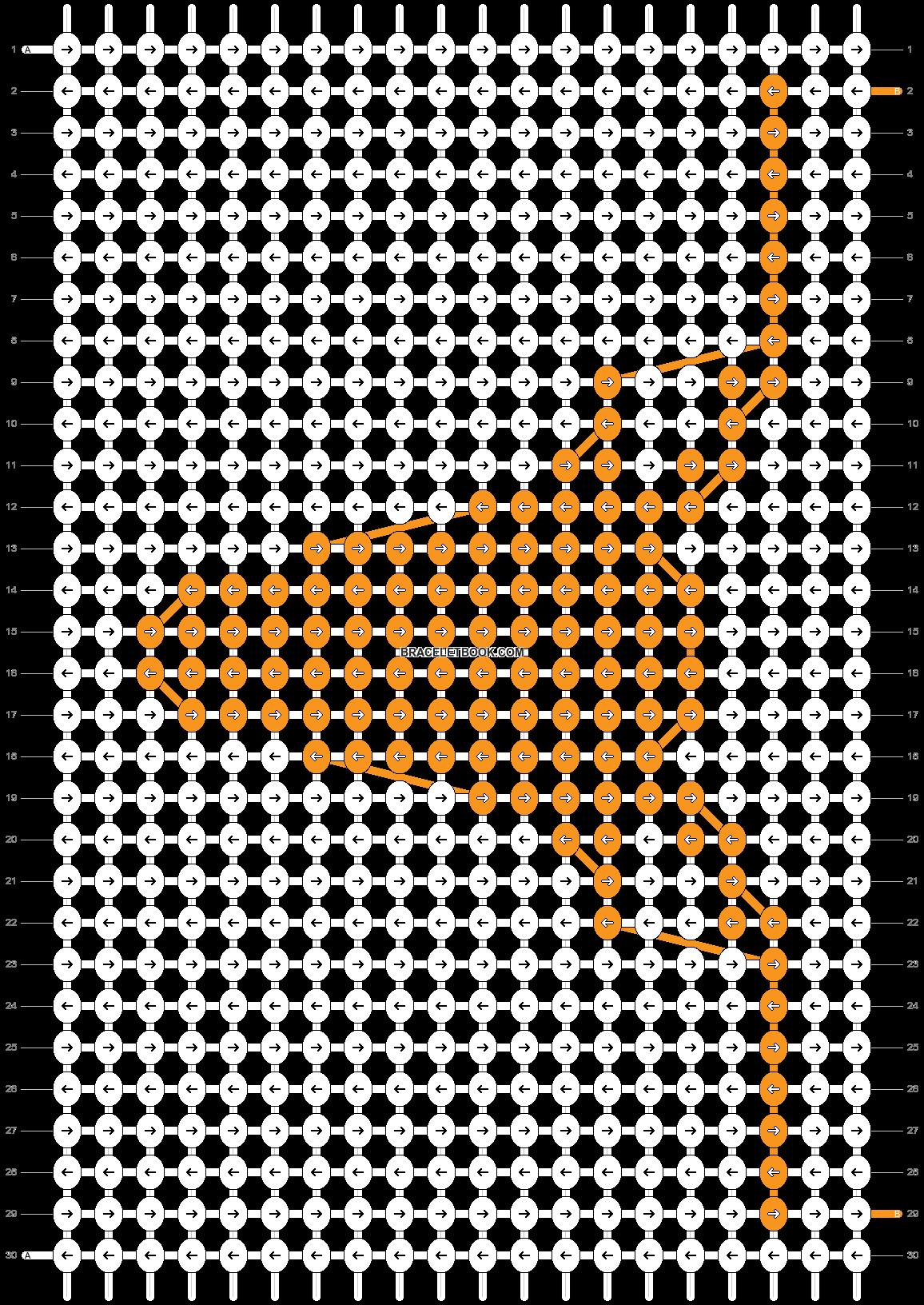 Alpha pattern #72349 pattern