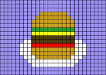 Alpha pattern #72366