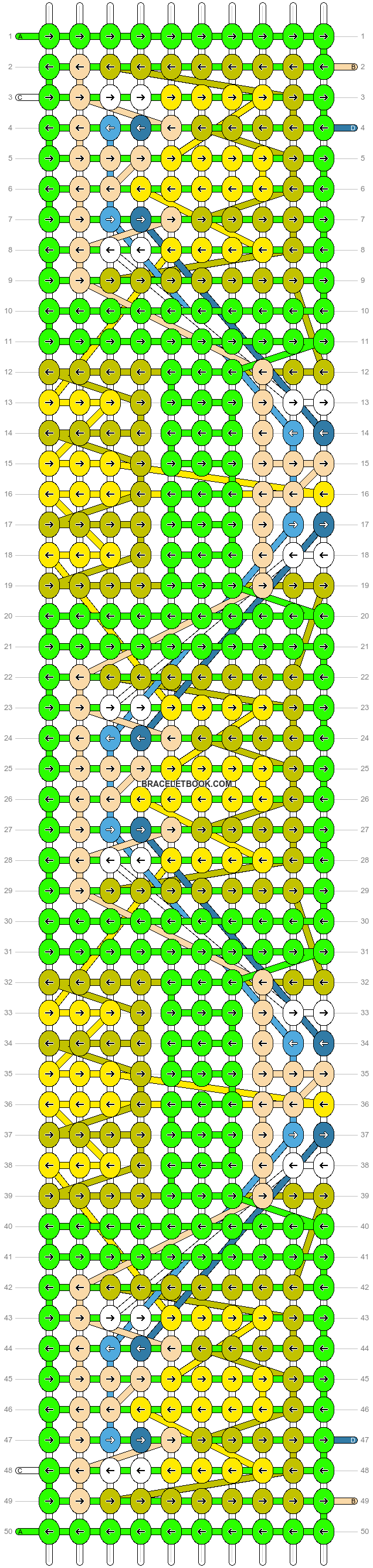 Alpha pattern #72373 pattern