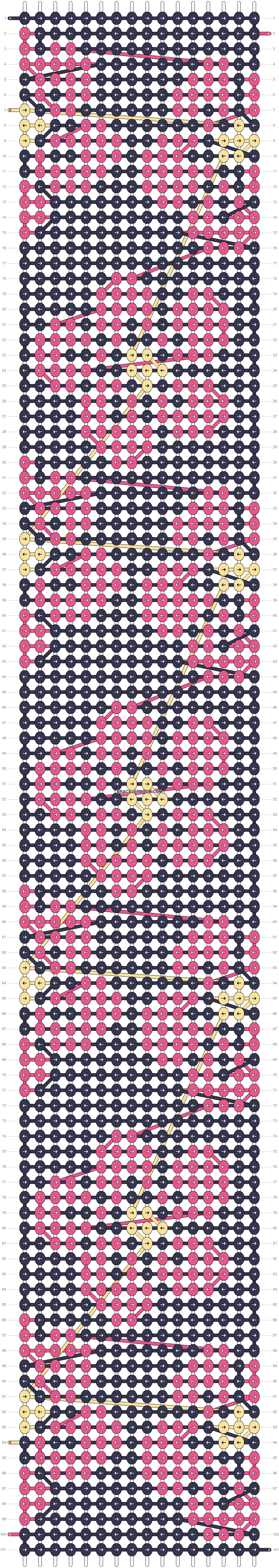 Alpha pattern #72464 pattern