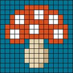 Alpha pattern #72504