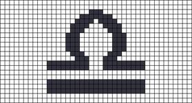 Alpha pattern #72533