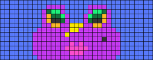 Alpha pattern #72573