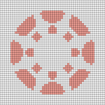 Alpha pattern #72574