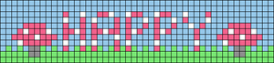 Alpha pattern #72593