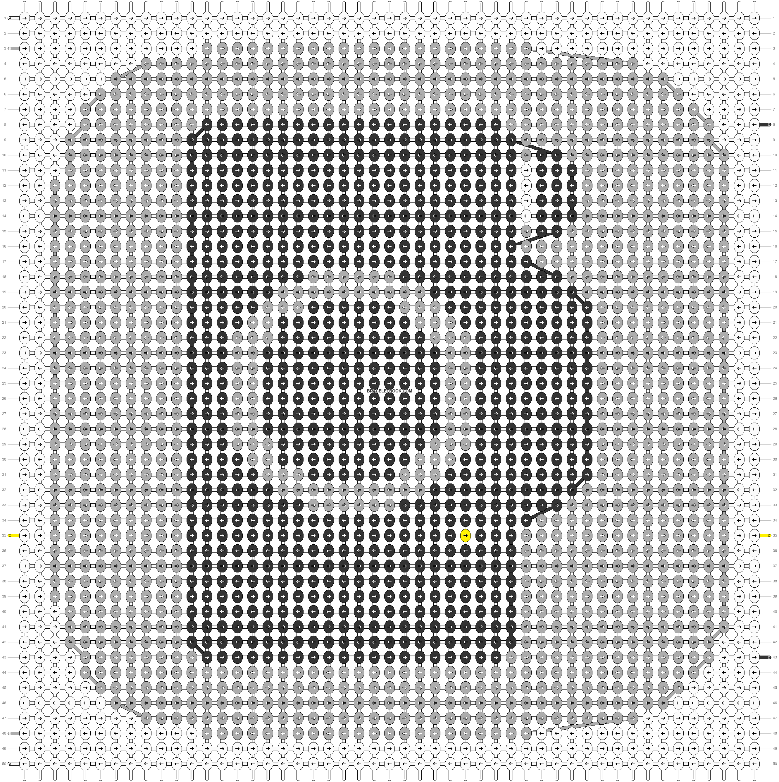 Alpha pattern #72617 pattern