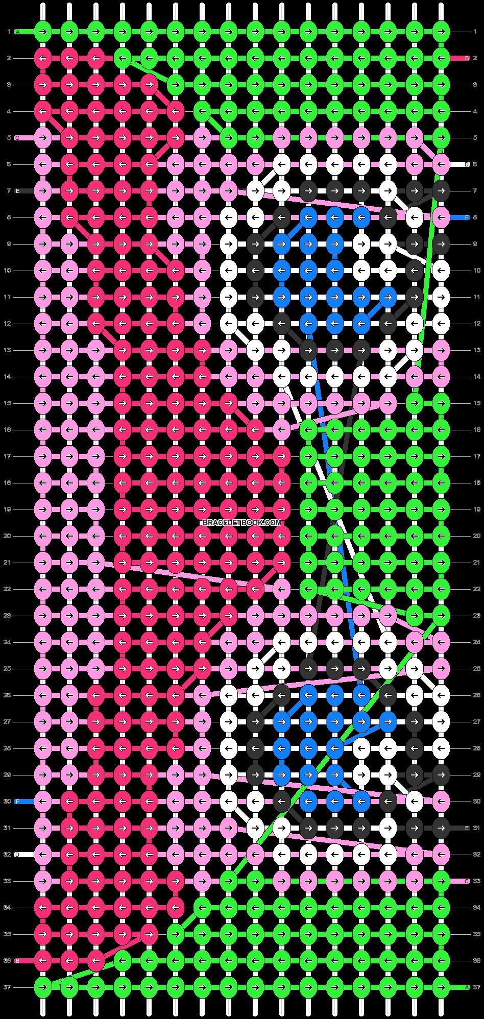 Alpha pattern #72668 pattern