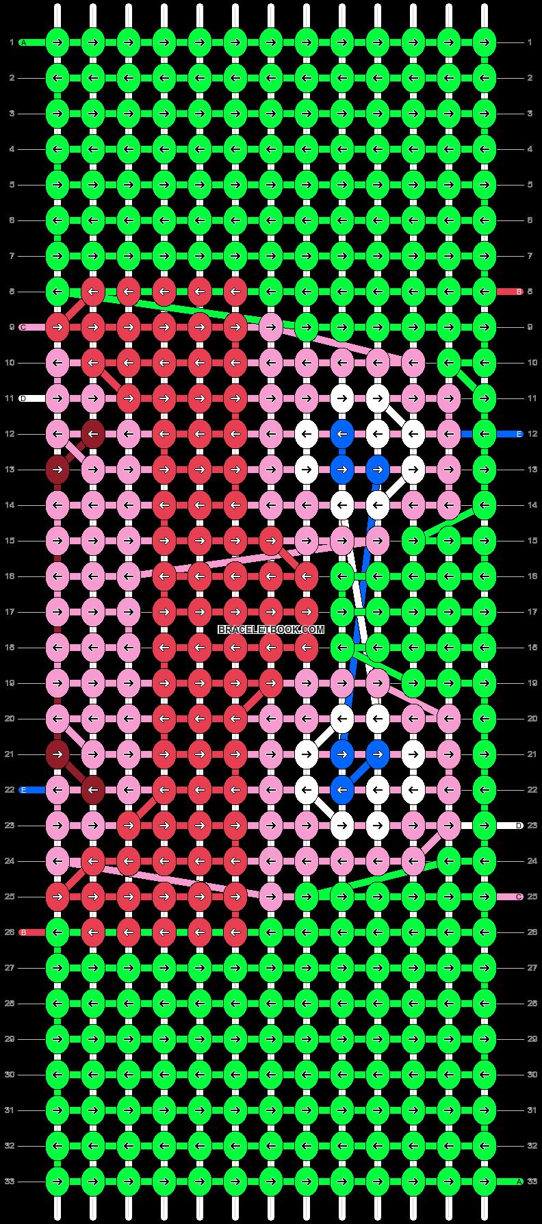 Alpha pattern #72670 pattern