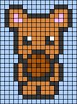 Alpha pattern #72699