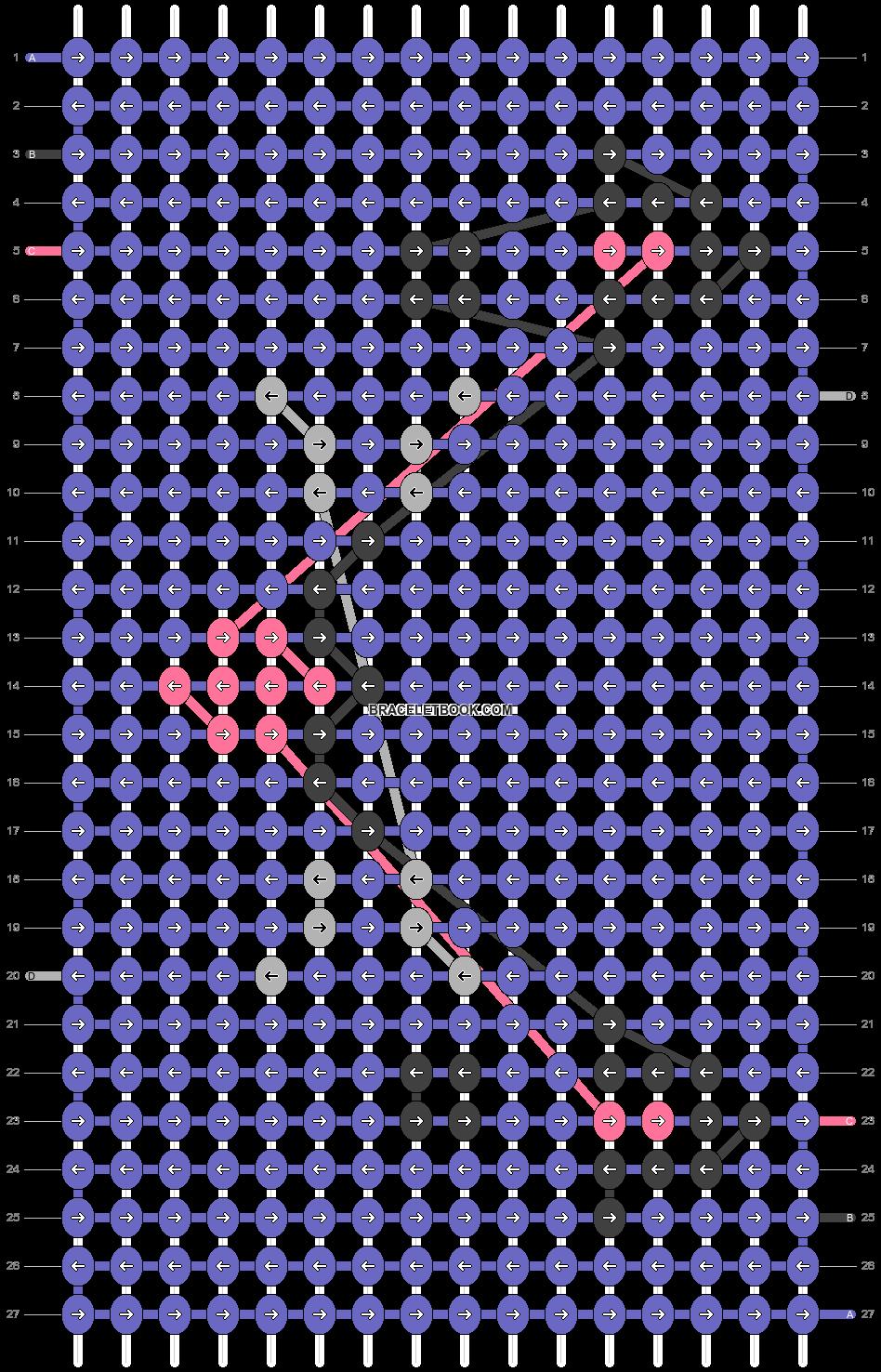 Alpha pattern #72742 pattern