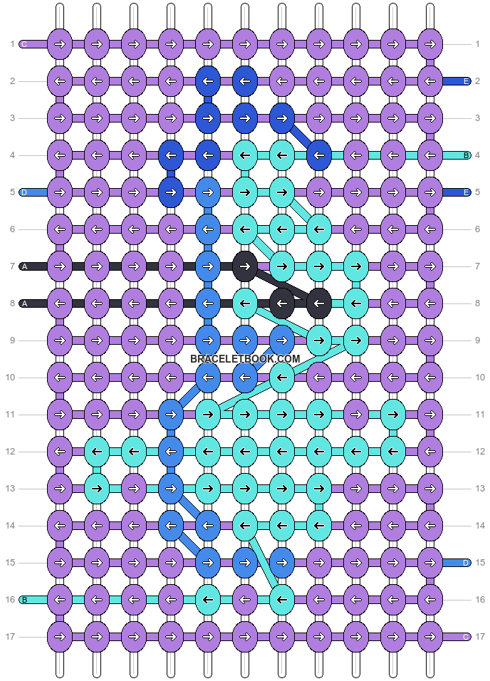 Alpha pattern #72858 pattern