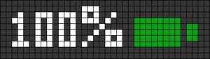 Alpha pattern #72863
