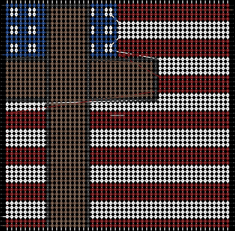 Alpha pattern #72898 pattern