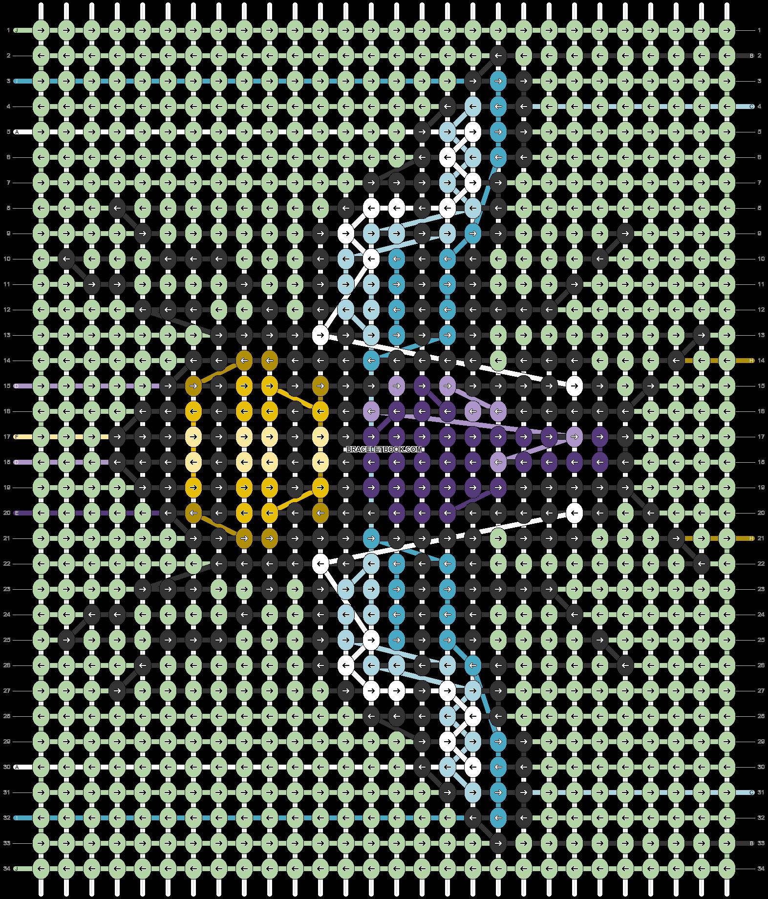 Alpha pattern #72914 pattern