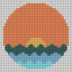 Alpha pattern #72918