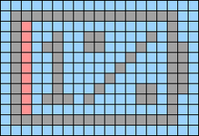 Alpha pattern #72947