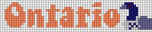 Alpha pattern #72987