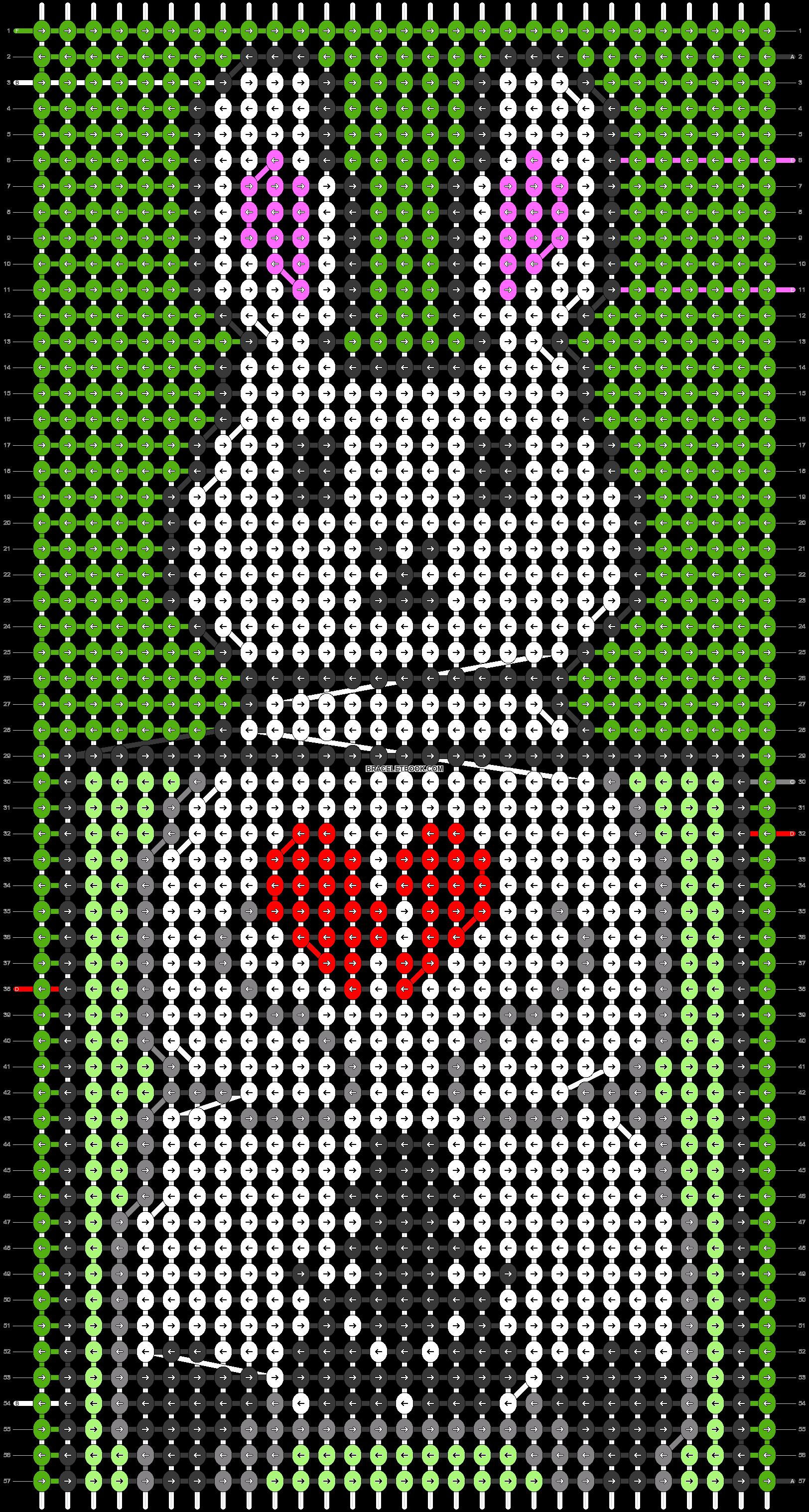 Alpha pattern #72989 pattern