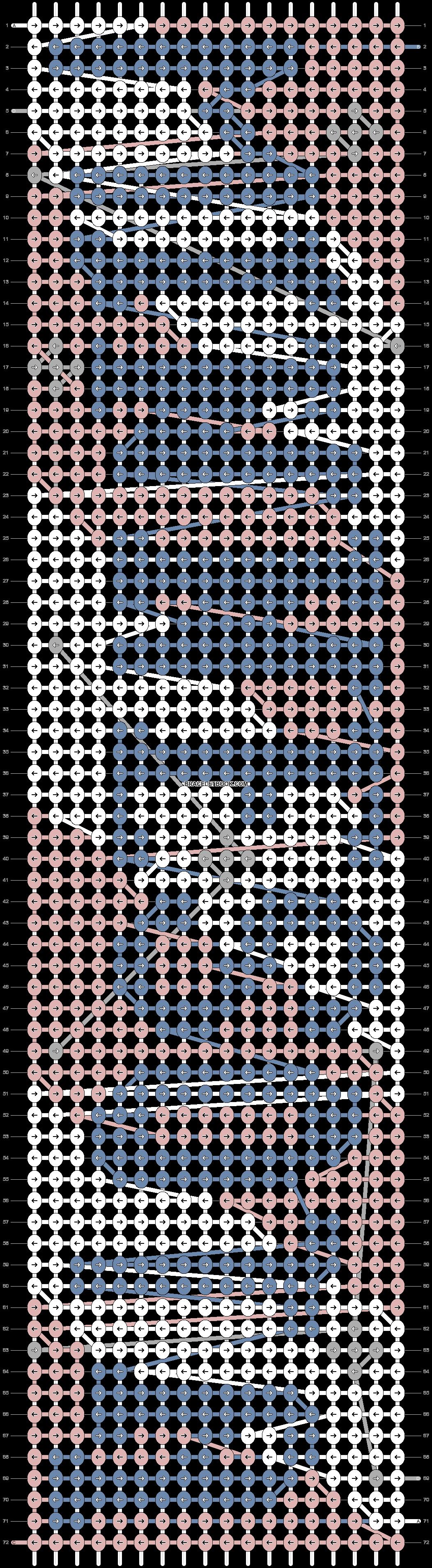 Alpha pattern #73030 pattern
