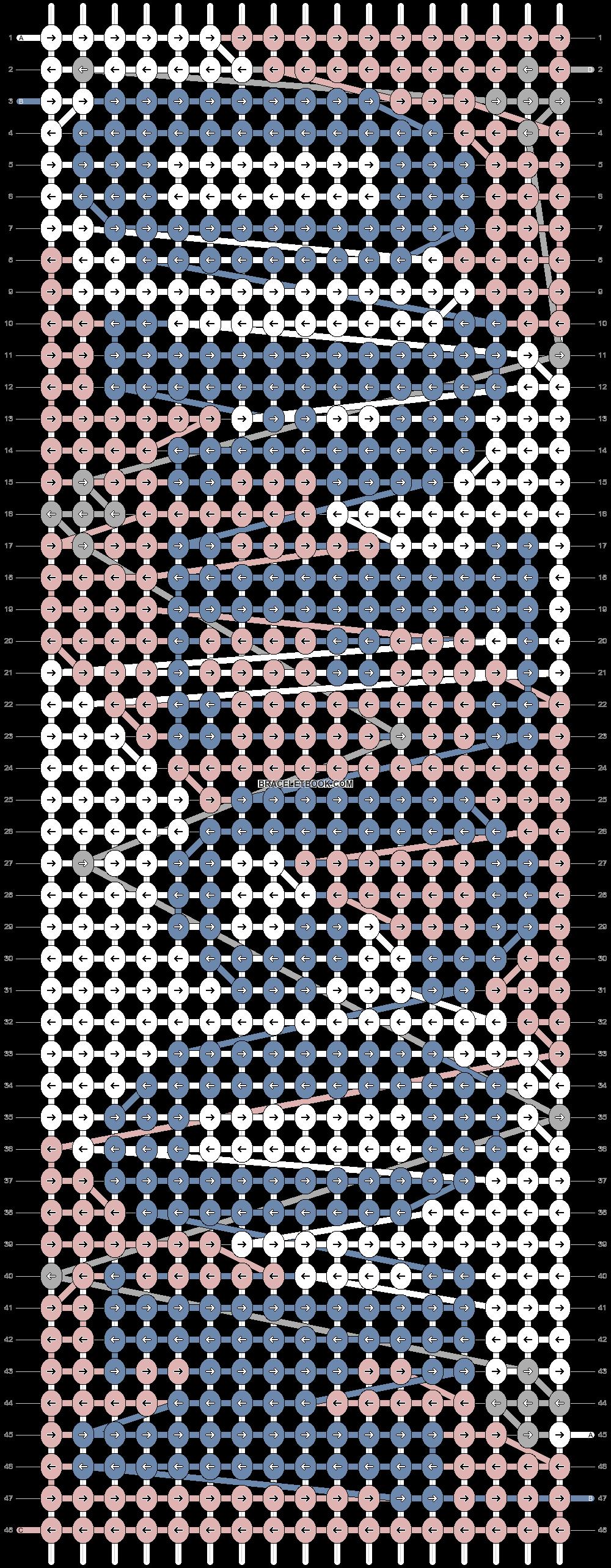 Alpha pattern #73034 pattern