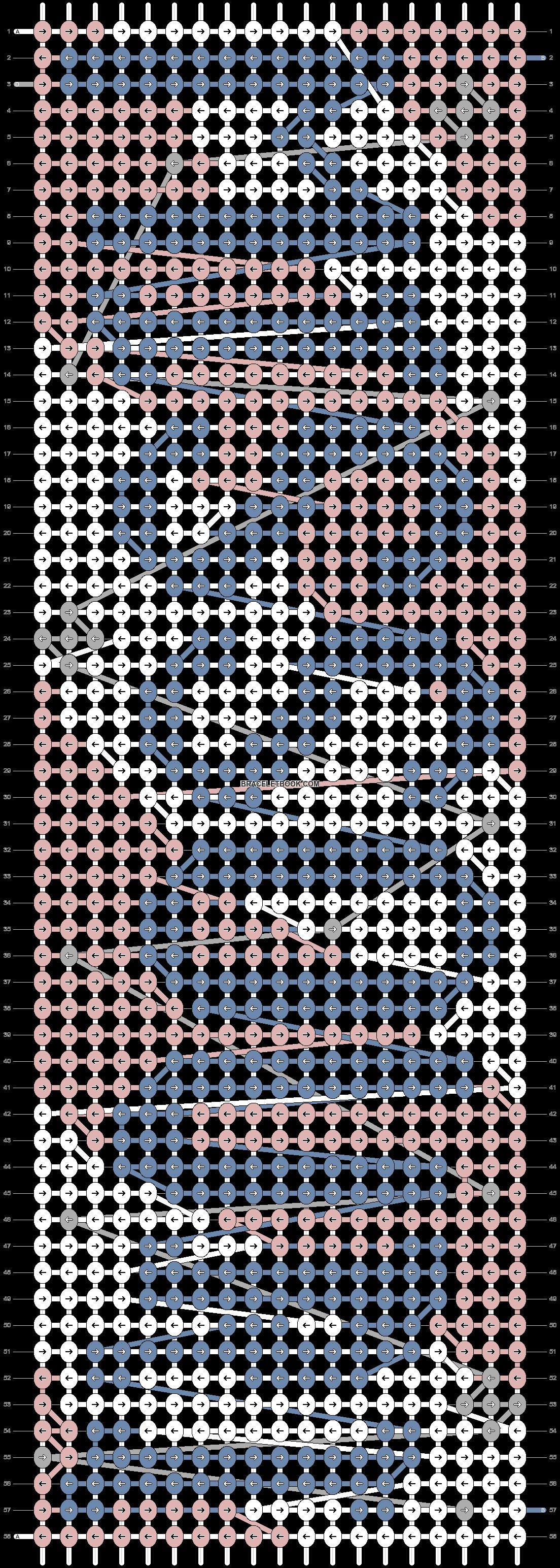 Alpha pattern #73035 pattern