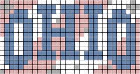 Alpha pattern #73037