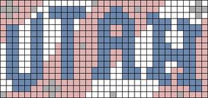 Alpha pattern #73050