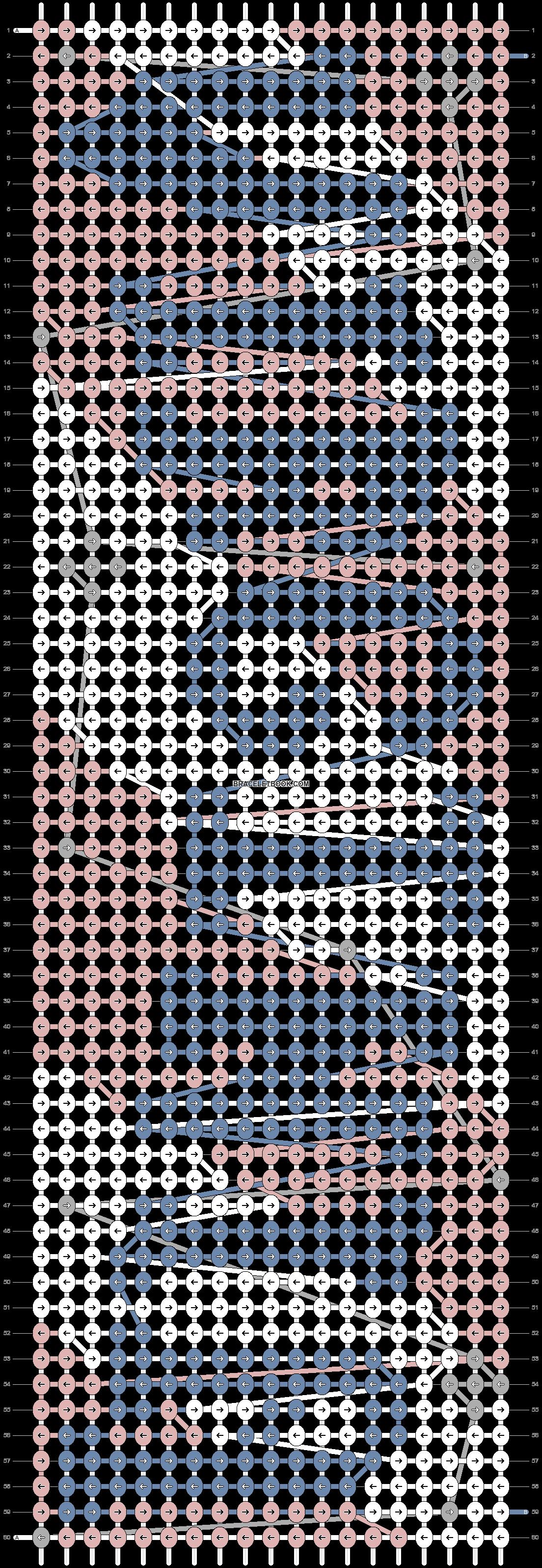 Alpha pattern #73052 pattern