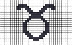 Alpha pattern #73080