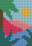 Alpha pattern #73085