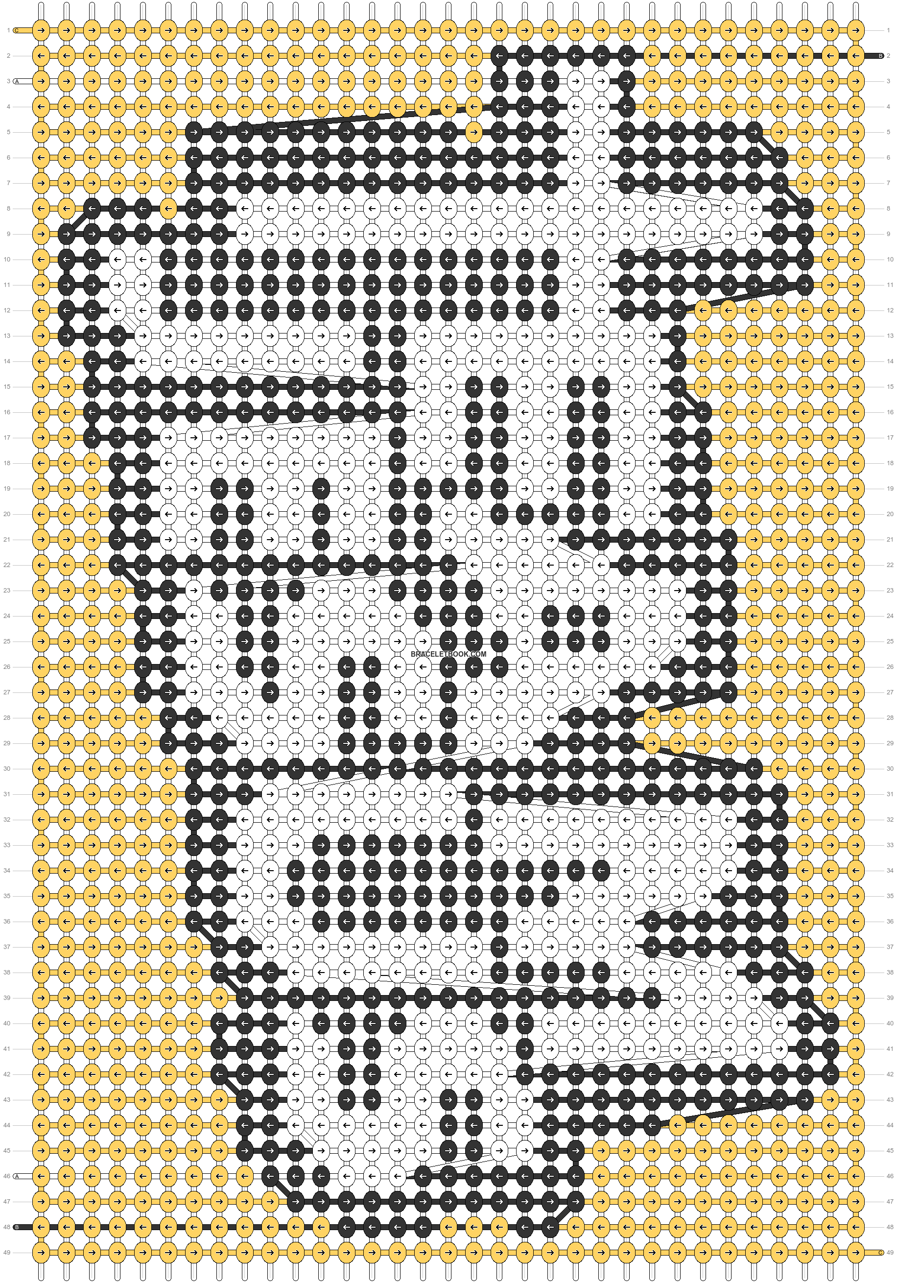 Alpha pattern #73096 pattern