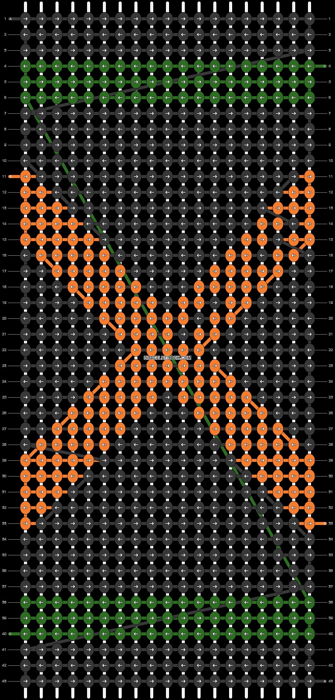 Alpha pattern #73102 pattern
