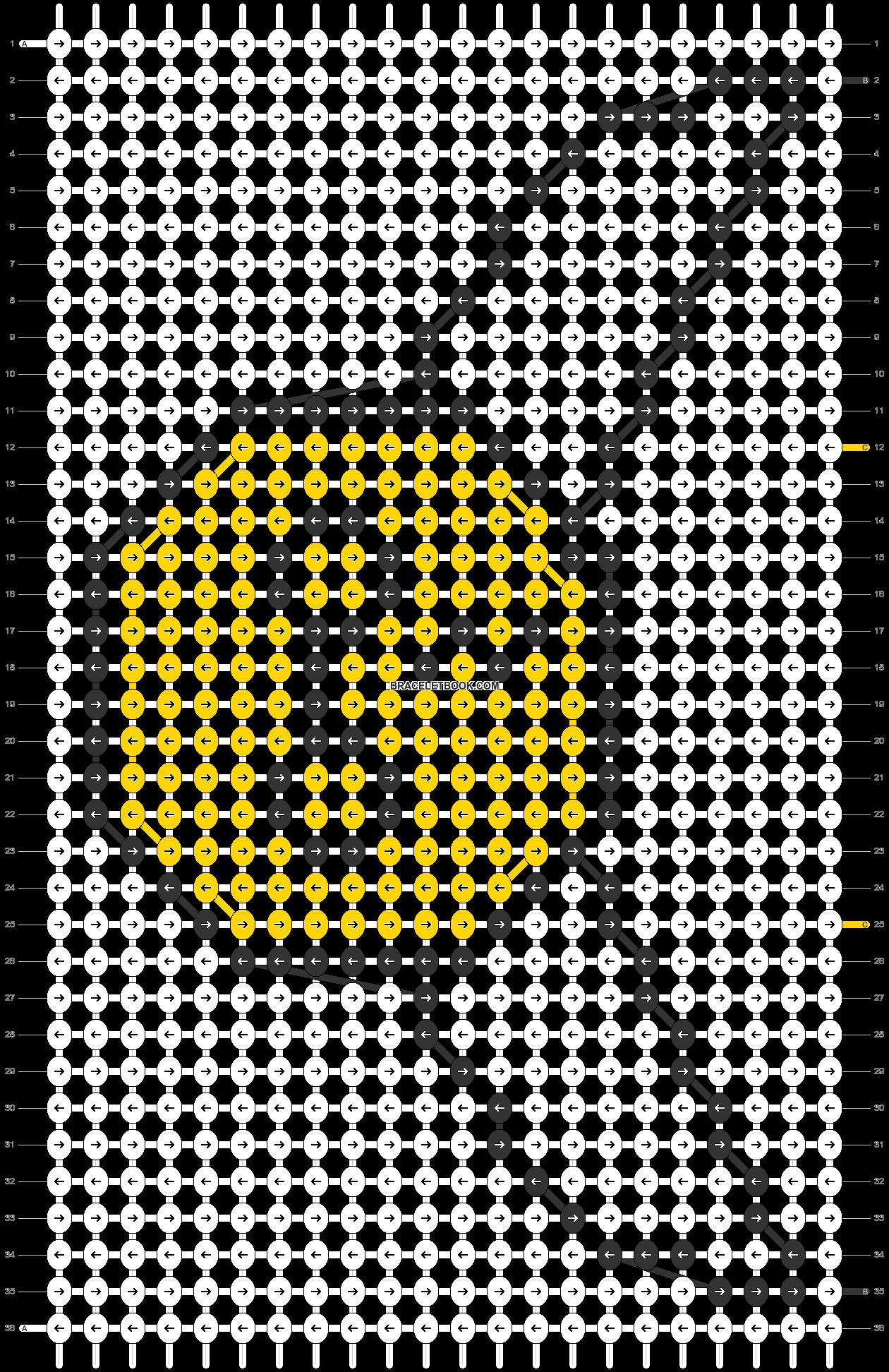 Alpha pattern #73110 pattern