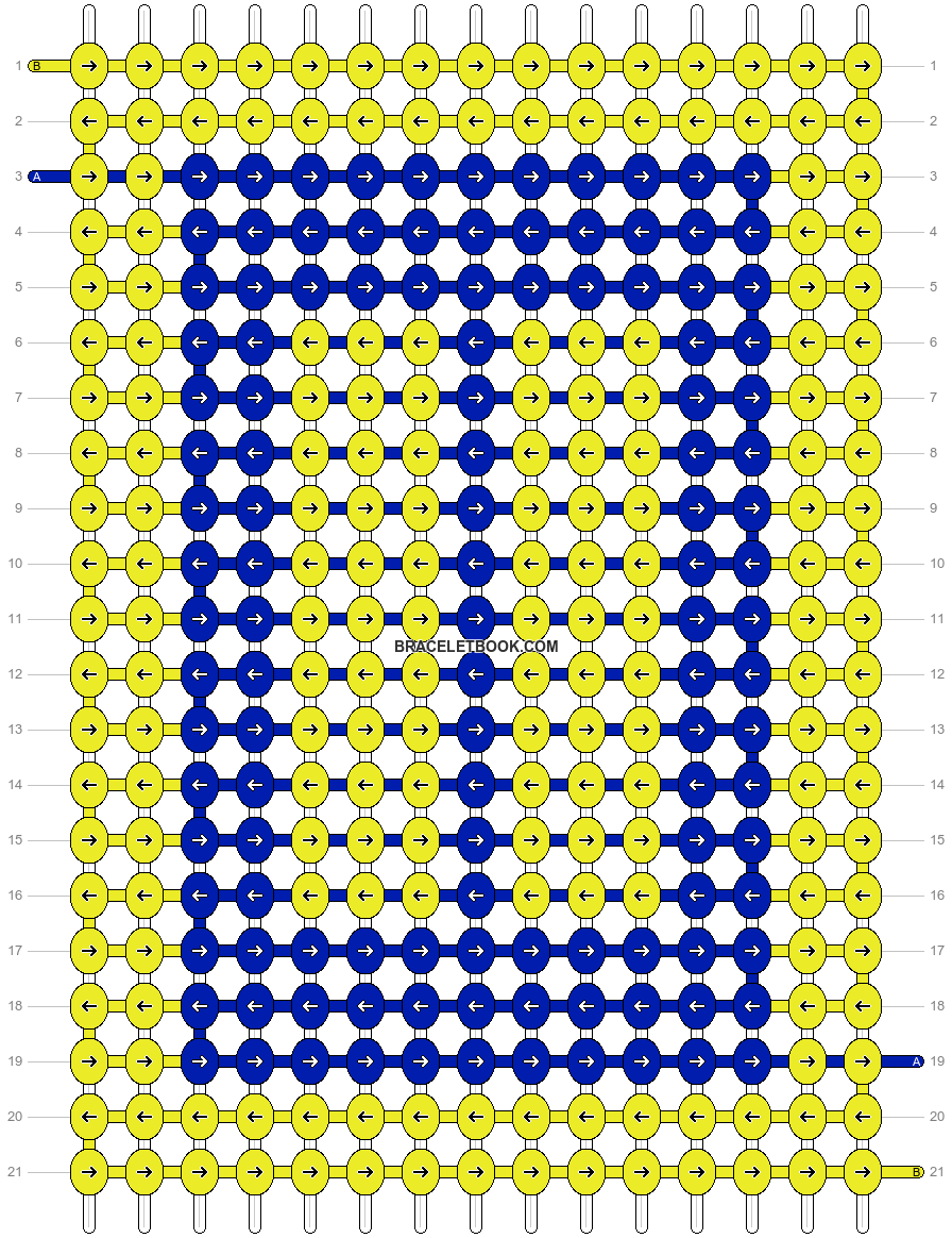 Alpha pattern #73137 pattern