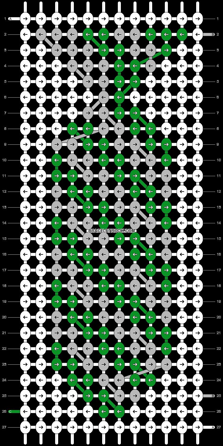Alpha pattern #73145 pattern
