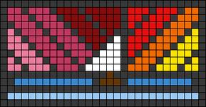 Alpha pattern #73152