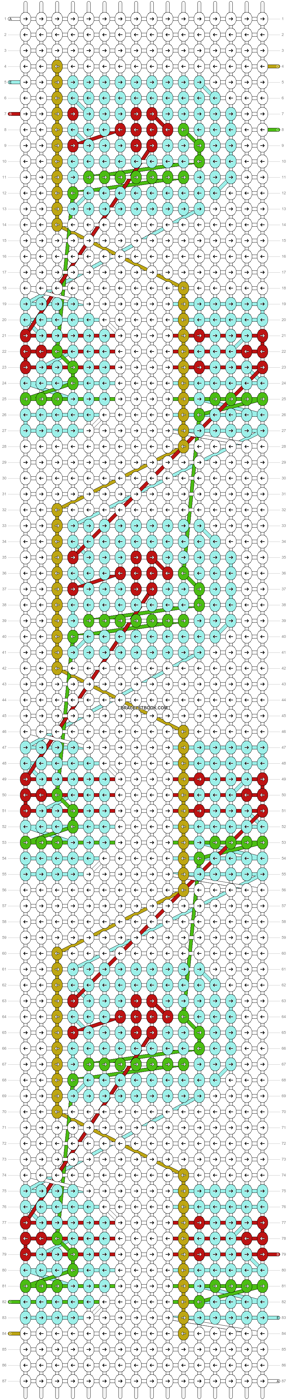 Alpha pattern #73164 pattern