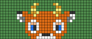 Alpha pattern #73234
