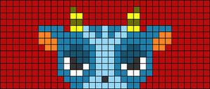 Alpha pattern #73235