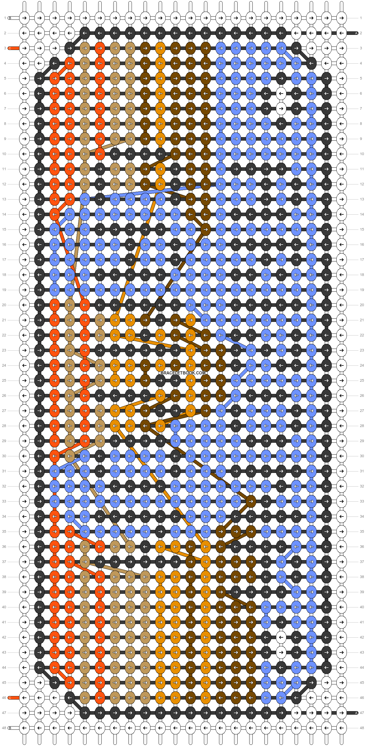 Alpha pattern #73249 pattern