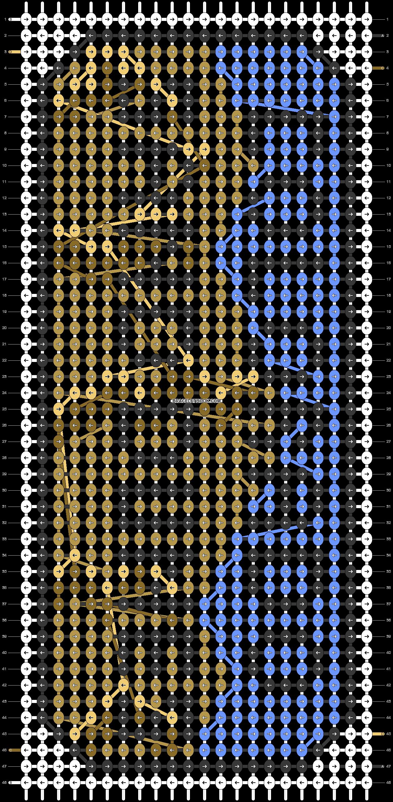 Alpha pattern #73253 pattern