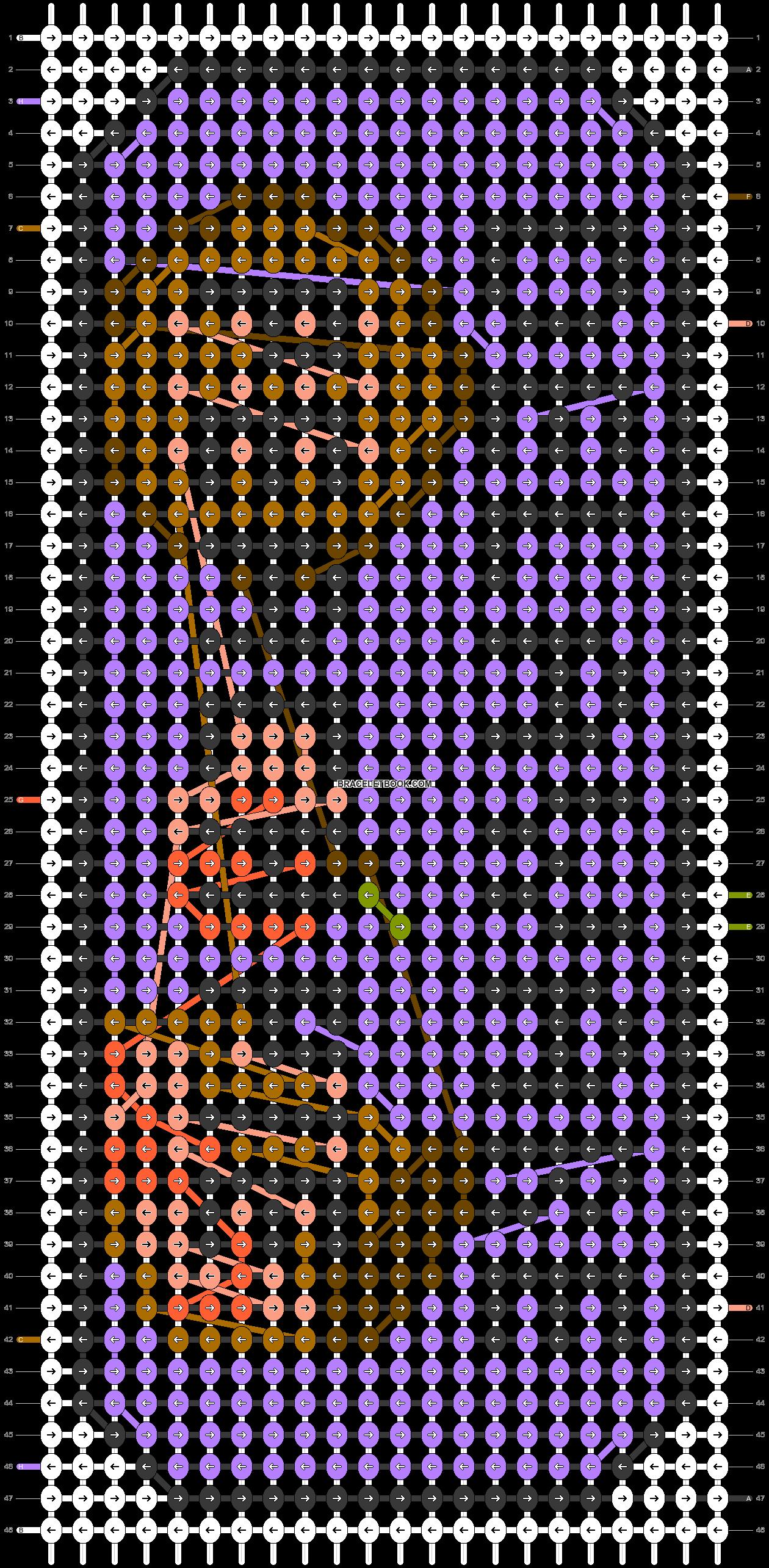 Alpha pattern #73255 pattern