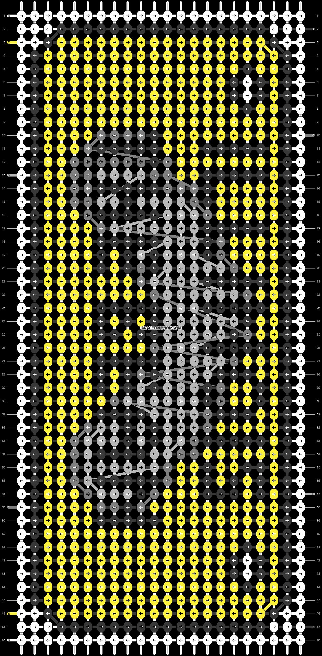 Alpha pattern #73257 pattern