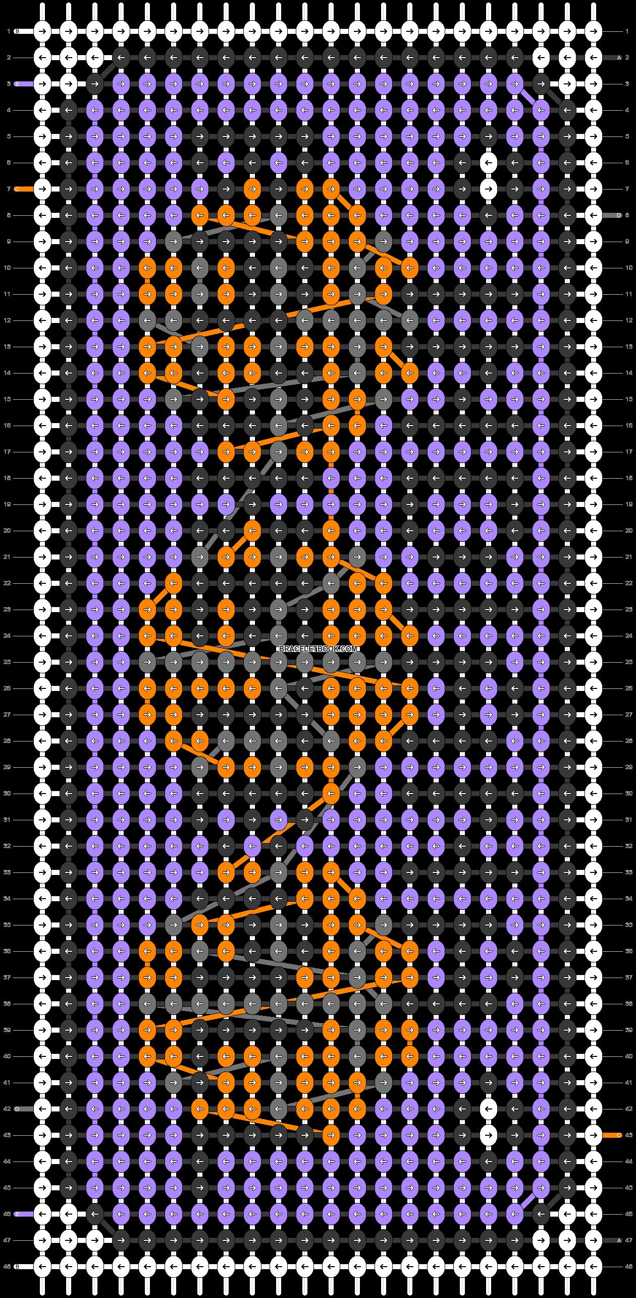 Alpha pattern #73261 pattern